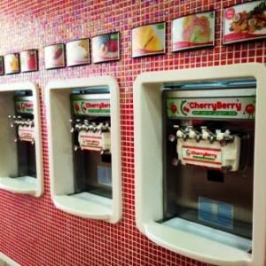 CherryBerry yogurt self serve machines