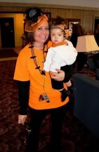 Salem Green Manager Julie and her daughter Josie