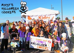 Kidney Walk team posing for a picture