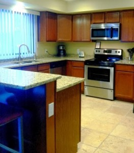 Kitchen in the Eagle Ridge Party Room