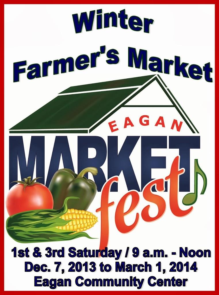 Poster advertising the Eagan Market Fest