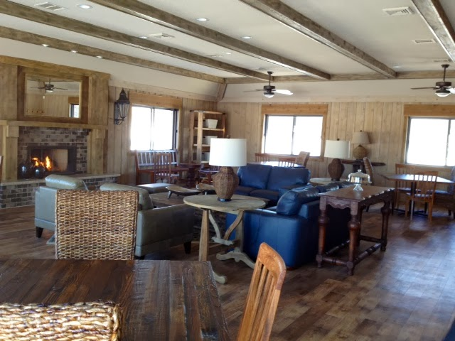 View of the Lexington Heights Party Room from the full kitchen.
