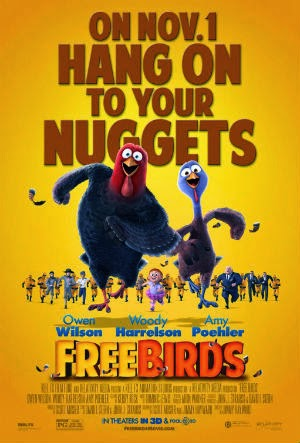 Promotional poster for the movie Free Birds