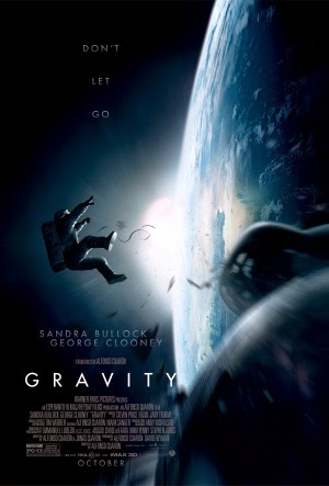 Promotional poster for the movie Gravity