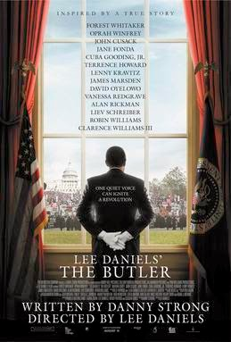 Promotional poster for the movie The Butler